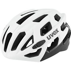 UVEX Race 7 Casco, bianco/nero